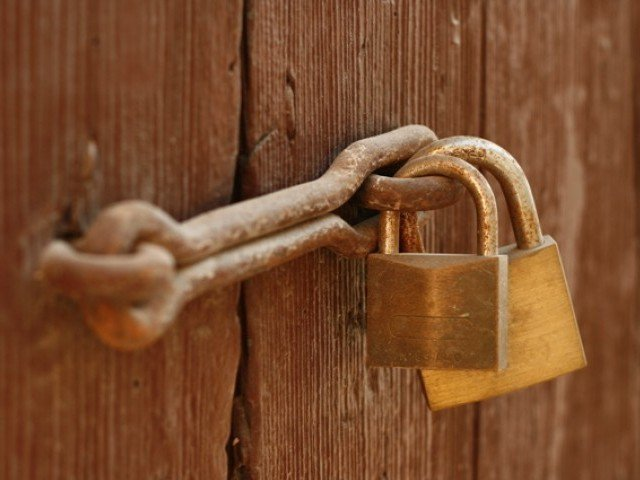 Childish protest: Opposition thatch AJK public doors, boycotts session