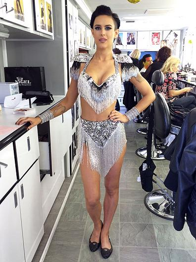 Rumer Willis Wows With Sexy Makeup on 'Dancing With the Stars'