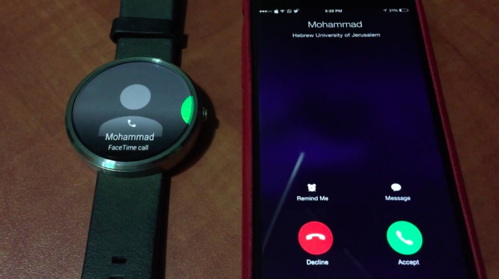 Code indicates Android Wear to benefit iOS support