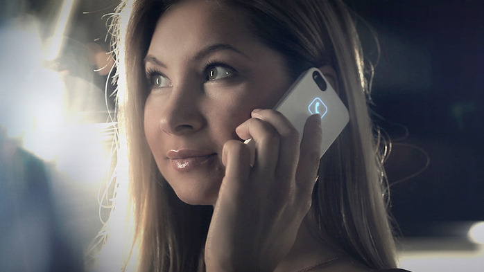 Lunecase for iPhone uses electromagnetic appetite to arrangement LED alerts