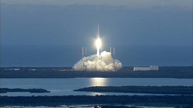 NOAA's New Deep Space Solar Monitoring Satellite Launched