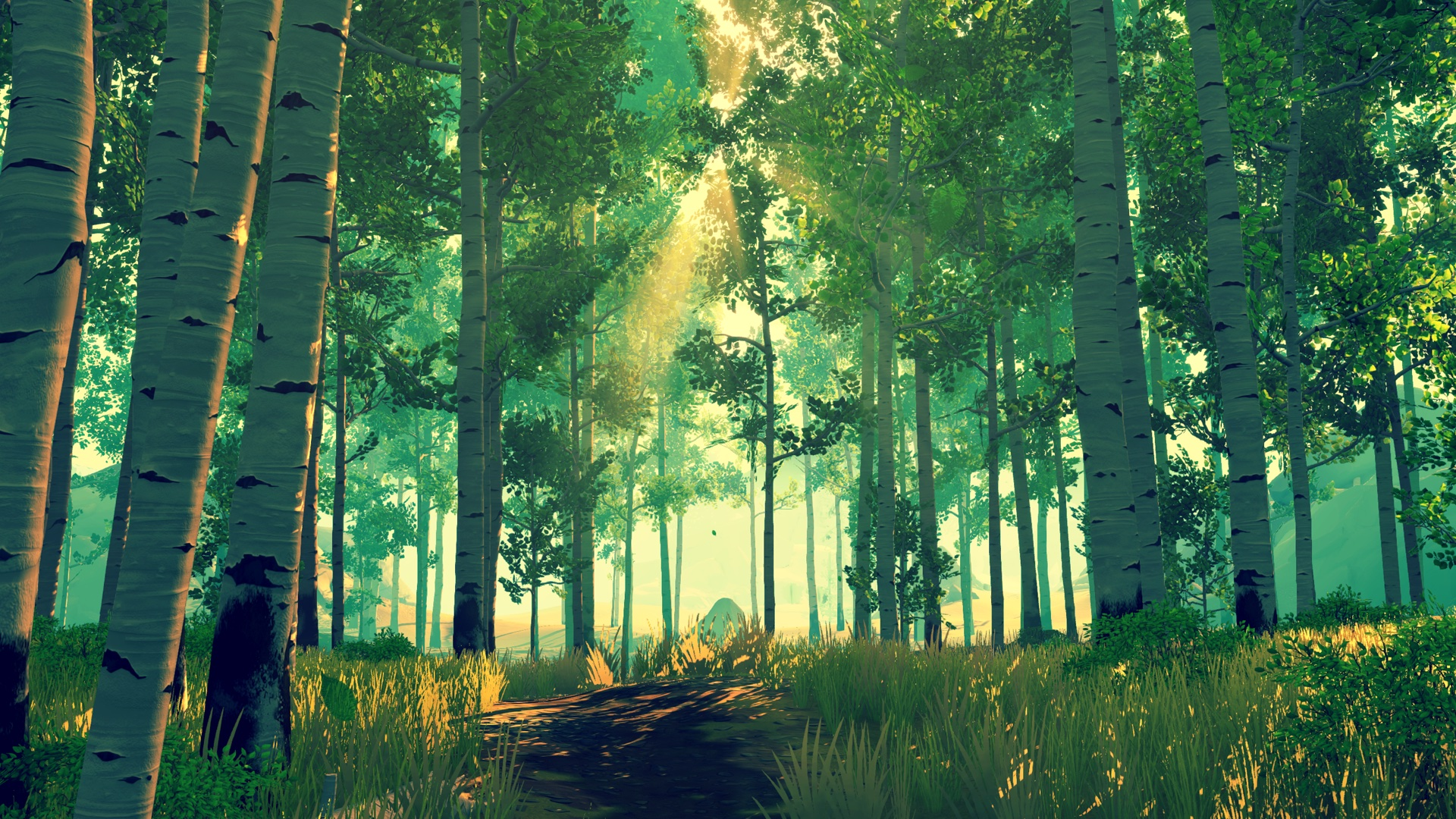 Firewatch preview: overwhelming poser journey for Mac set in Wyoming wilderness