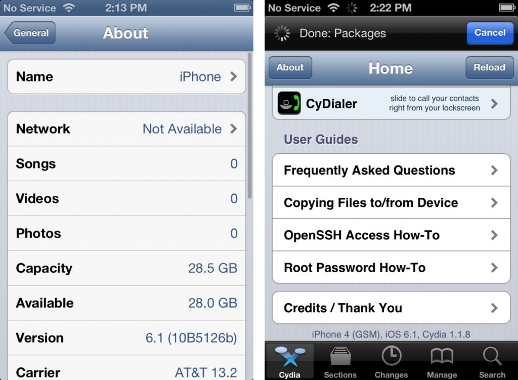 How to jailbreak iOS 6.1 beta 4