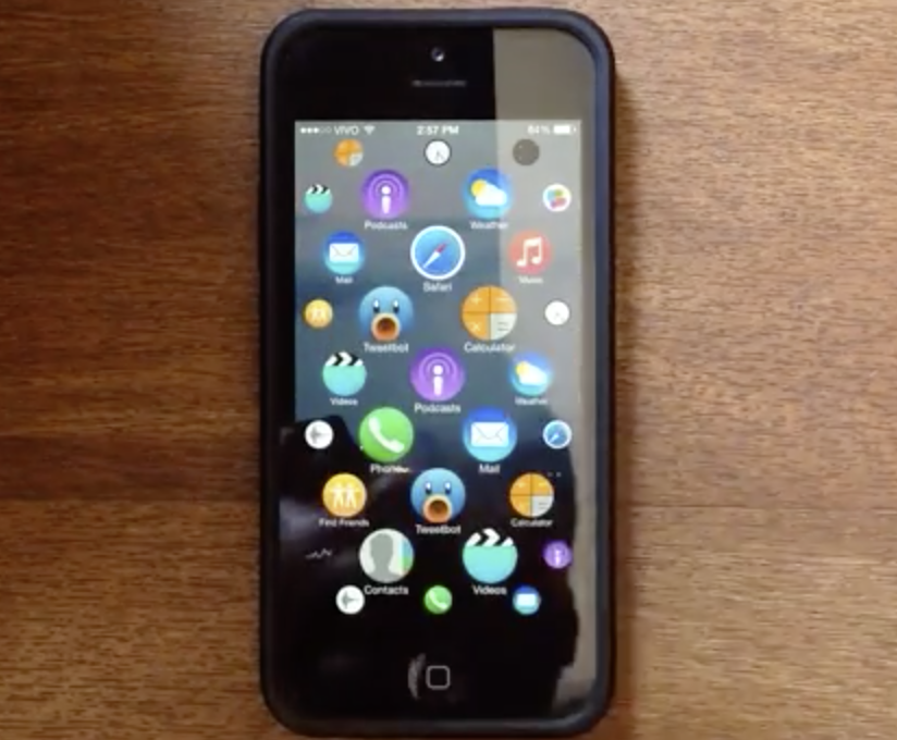 Here's what a Apple Watch UI looks like on an iPhone [video]