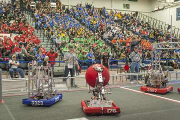 UNH Hosts District FIRST Robotics Competition Mar 21-22, 2015