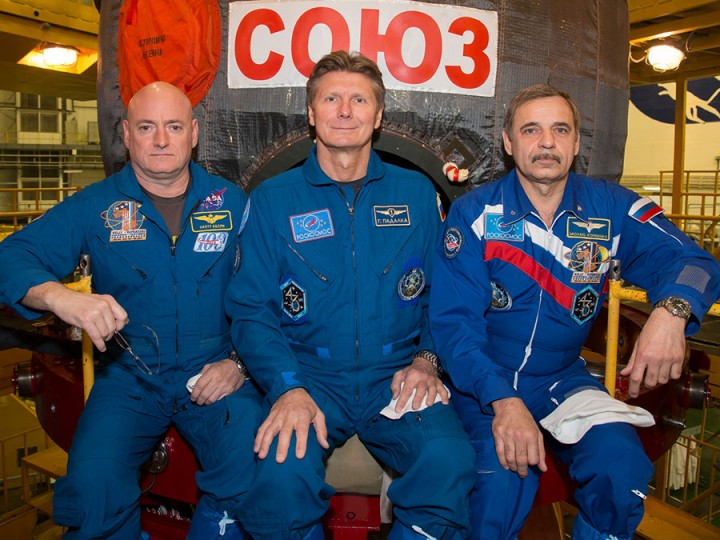 Station Boosts Orbit as New Soyuz Crew Awaits Launch