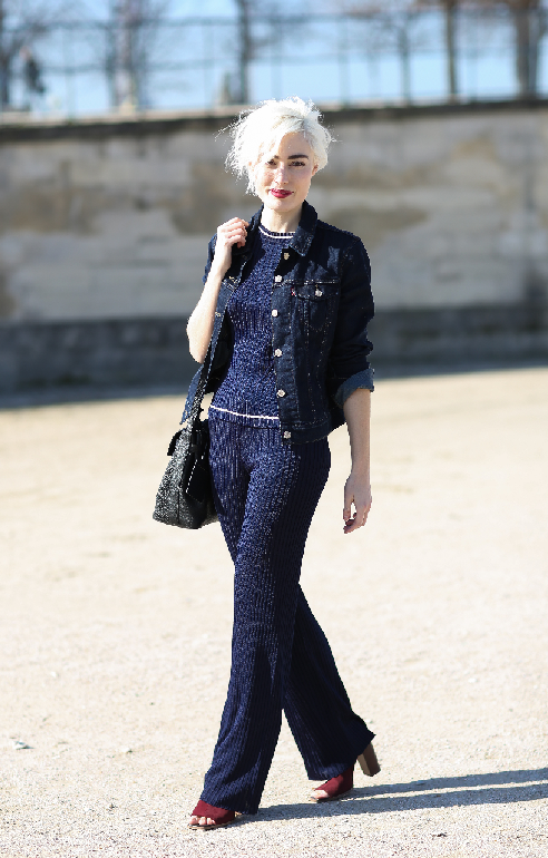 Best Street Style Looks From Paris Fashion Week – Olivia Palermo, Bryan Boy And More