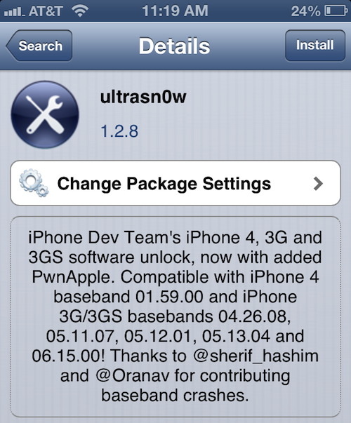 Ultrasn0w updated for iOS 6.1