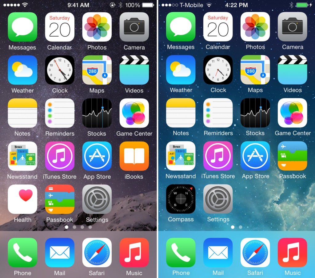 How to hillside iOS 8 to iOS 7.1.2