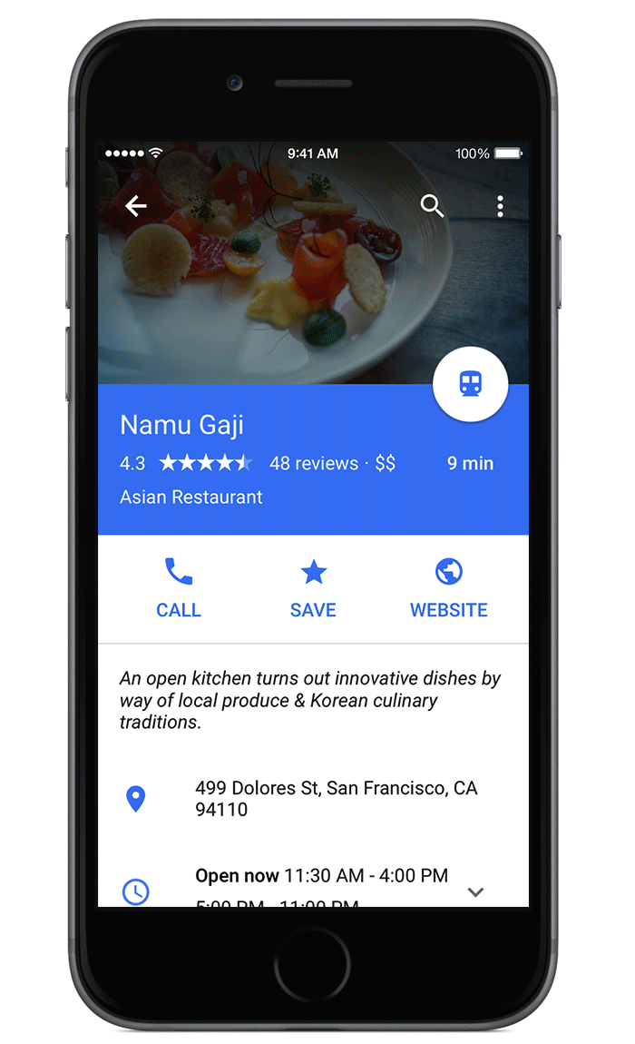 Google Maps gains full-screen mode, movement line colors, voice hunt improvements and more