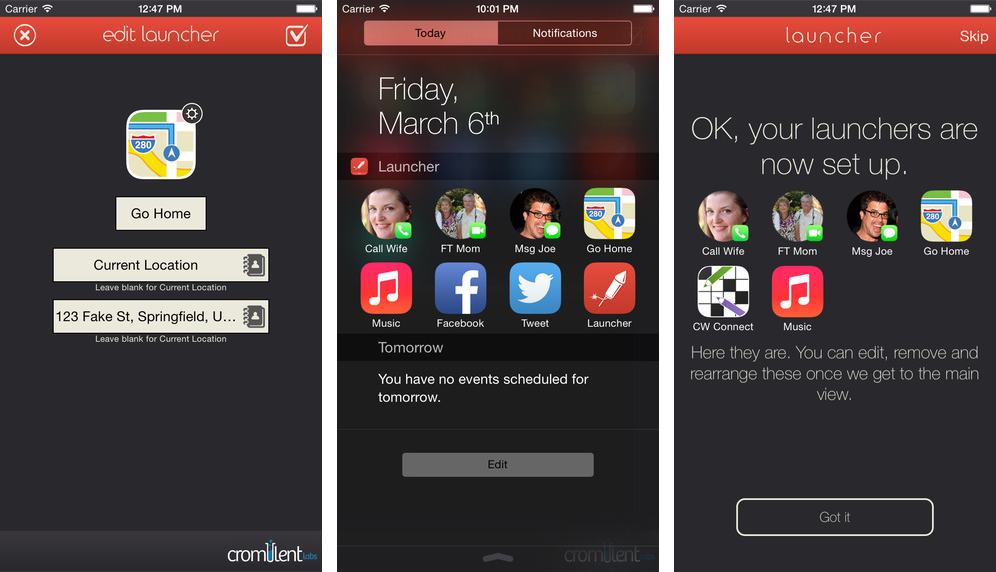 Launcher is behind on App Store as Apple's position on widget restrictions softens