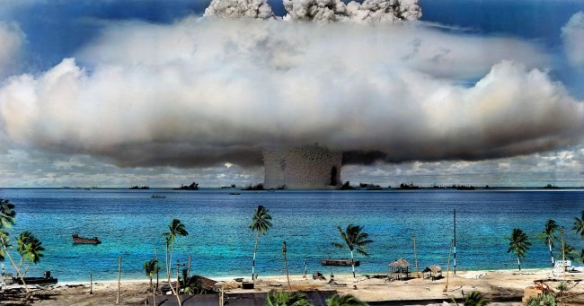 Bikini Islanders Demand Move to a U.S. Due to Nuclear Testing