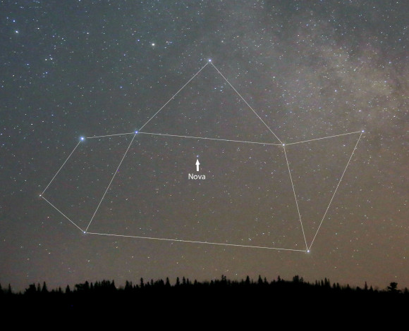 Nova in Sagittarius Brighter Than Ever – Catch it with the Naked Eye!