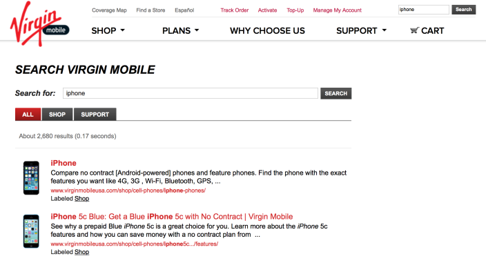 Virgin Mobile no longer offered iPhones