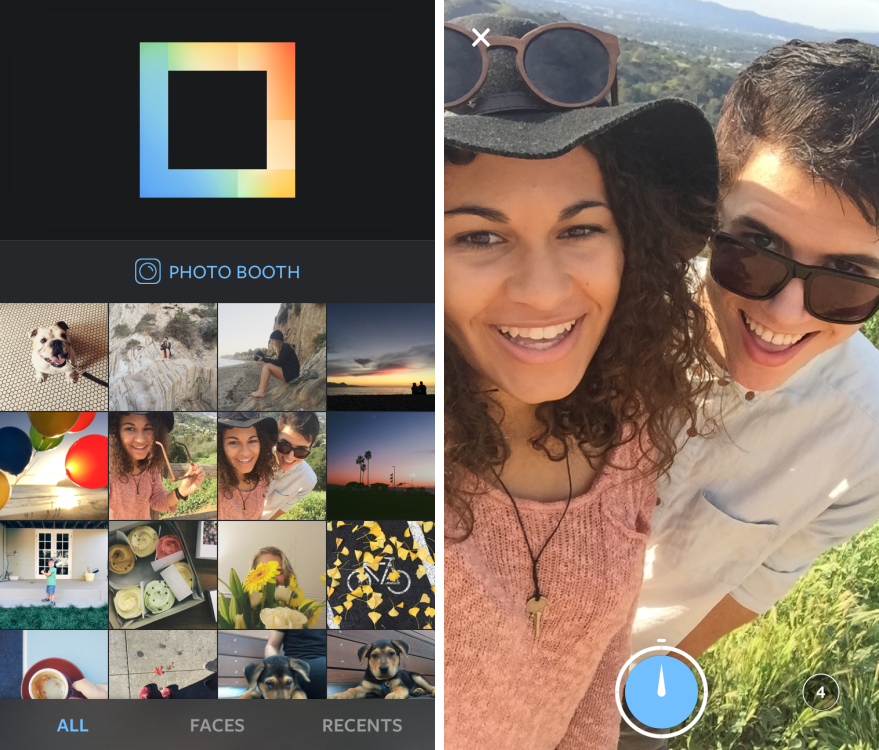 Instagram releases photo collage app Layout
